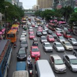 Drukte in Bangkok