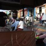 Heeeel veel brommers in Phnom Penh
