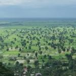 Cambodja is bijna net zo plat als Nederland
