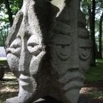 Beeldentuin in Klaipeda
