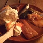 lekker eten bij Olde Hansa