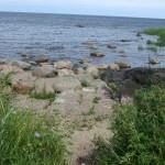 stenen nagelaten door getsjers in de ijstijd