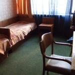 de hotel kamer