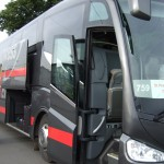 de luxe bus van Luxexpress