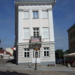 scheef huis in Tartu