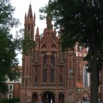 bakstenen kerk