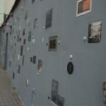 literaire muur