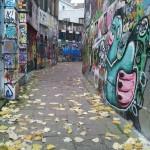 Grafitti straatje