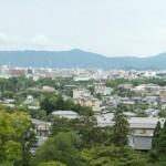 Zicht op kyoto