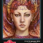 Airbrushshow Rosmalen 11 en 12 januari 2014
